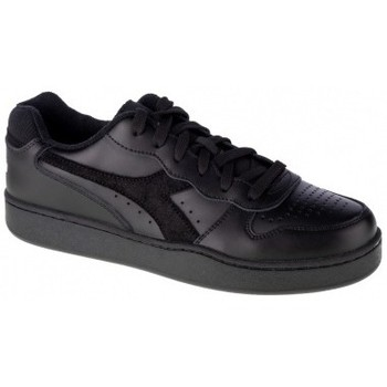 Chaussures Homme Multisport Diadora Mi Basket Low noir