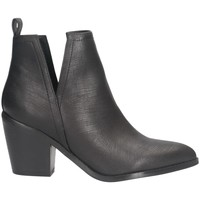 Chaussures Femme Bottes ville Gold&gold GU85 Texano Femme NOIR NOIR
