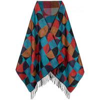 Accessoires textile Femme Echarpes / Etoles / Foulards Qualicoq Châle cashcryl Disco Pétrole