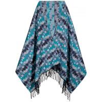 Accessoires textile Femme Echarpes / Etoles / Foulards Qualicoq Châle cashcryl Aristo Bleu