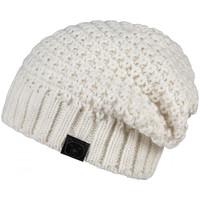 Accessoires textile Femme Bonnets Mokalunga Bonnet Elixa Blanc