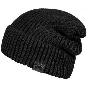 Accessoires textile Femme Bonnets Mokalunga Bonnet Elena Noir