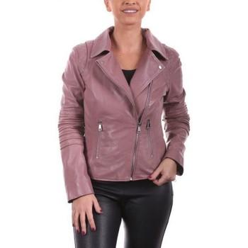Vêtements Femme Vestes en cuir / synthétiques Giorgio Savila Rose Rose