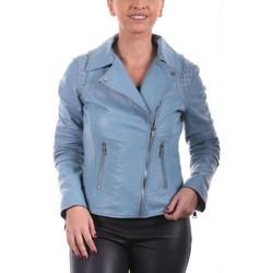 Vêtements Femme Vestes en cuir / synthétiques Giorgio Savila Ciel Bleu