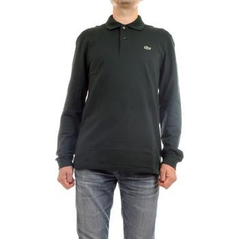 Vêtements Homme Polos manches longues Lacoste L1312 00 polo homme vert vert