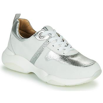 Chaussures Femme Baskets basses JB Martin WILO Blanc / Argenté