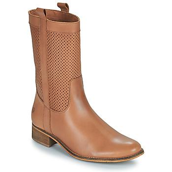 Chaussures Femme Bottes ville Betty London ORYPE Cognac