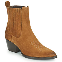 Chaussures Femme Boots Betty London OSOYA Cognac
