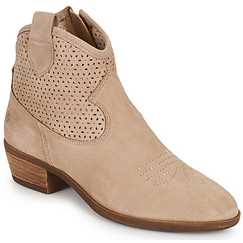 Chaussures Femme Boots Betty London OGEMMA Beige
