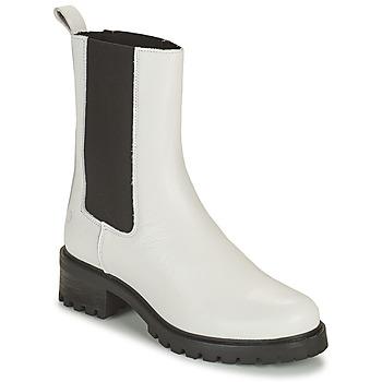 Chaussures Femme Boots Betty London OLANDI Blanc