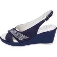 Chaussures Femme Sandales et Nu-pieds Adriana Del Nista BJ08 Bleu