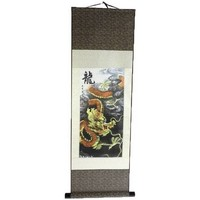 Maison Tableaux, toiles Lachineuse KAKEMONO DRAGON CELESTE IMPERIAL