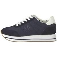 Chaussures Femme Baskets basses S.Oliver 552361222805 Bleu marine