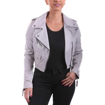 Vêtements Femme Vestes en cuir / synthétiques Ladc Mégane Gris Gris