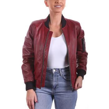 Vêtements Femme Vestes en cuir / synthétiques Ladc Bastille Rouge Rouge