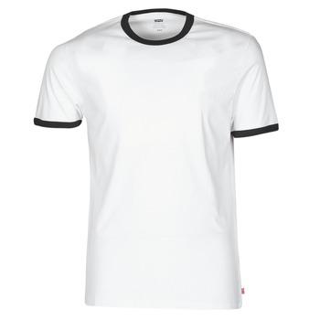 Vêtements Homme T-shirts manches courtes Levi's SS RINGER TEE Blanc