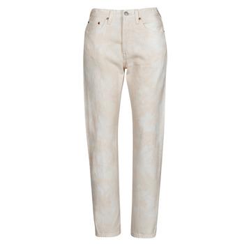Vêtements Femme Jeans boyfriend Levi's 501 CROP PECHE