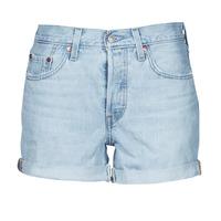Vêtements Femme Shorts / Bermudas Levi's 501 ROLLED SHORT Bleu
