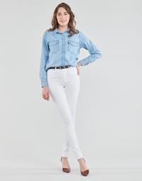 Vêtements Femme Jeans skinny Levi's 721 HIGH RISE SKINNY Blanc