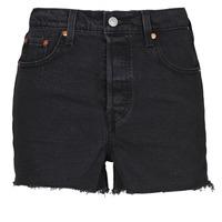 Vêtements Femme Shorts / Bermudas Levi's RIBCAGE SHORT Noir