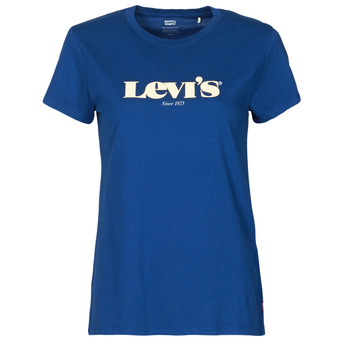 Vêtements Femme T-shirts manches courtes Levi's THE PERFECT TEE Bleu