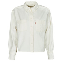 Vêtements Femme Chemises / Chemisiers Levi's ZOEY PLEAT UTILITY SHIRT Blanc