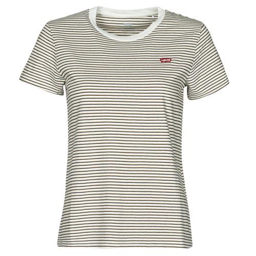 Vêtements Femme T-shirts manches courtes Levi's PERFECT TEE Beige