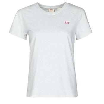 Vêtements Femme T-shirts manches courtes Levi's PERFECT TEE Gris