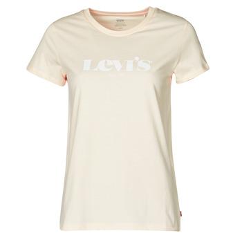 Vêtements Femme T-shirts manches courtes Levi's THE PERFECT TEE Beige
