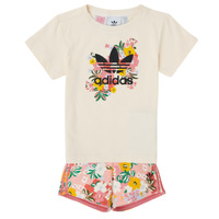 Vêtements Fille Ensembles enfant adidas Originals OLIVIA Multicolore