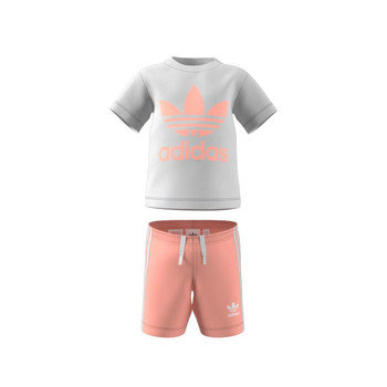 Vêtements Enfant Ensembles enfant adidas Originals GN8192 Blanc