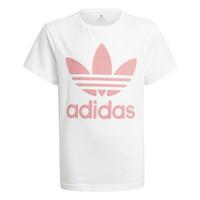 Vêtements Enfant T-shirts manches courtes adidas Originals GN8213 Blanc