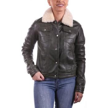 Vêtements Femme Vestes en cuir / synthétiques Ladc Véronica Olive Olive