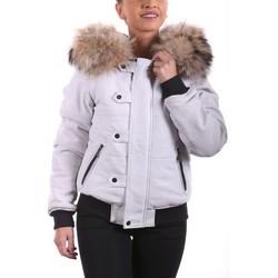 Vêtements Femme Blousons Ladc Nina Blanc Blanc