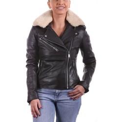 Vêtements Femme Vestes en cuir / synthétiques Ladc Hepburn Marron Marron
