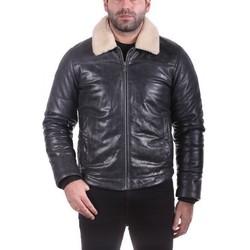 Vêtements Homme Vestes en cuir / synthétiques Ladc Wolf Marine Gris