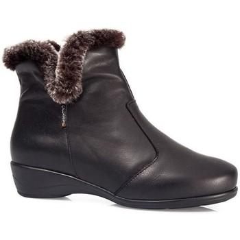 Chaussures Femme Bottes de neige Calzamedi BOTTINES  POLAR W 0640 NOIR
