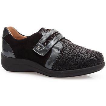 Chaussures Femme Derbies & Richelieu Calzamedi CHAUSSURES  ELASTICO SPECIAL JUANETES 0748 BLACK