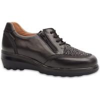Chaussures Femme Derbies & Richelieu Calzamedi CHAUSSURES  DIABETIC 0751 BLACK