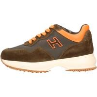 Chaussures Garçon Baskets basses Hogan - Interactive h marrone HXC00N0V310JYCT02Z MARRONE