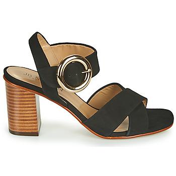 Chaussures Femme Sandales et Nu-pieds JB Martin 1NICKY Noir