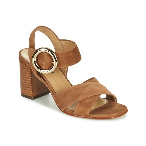 Chaussures Femme Sandales et Nu-pieds JB Martin 1NICKY Marron