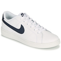Chaussures Homme Baskets basses Nike COURT ROYALE 2 LOW Blanc / Bleu
