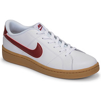 Chaussures Homme Baskets basses Nike COURT ROYALE 2 LOW Blanc / Rouge