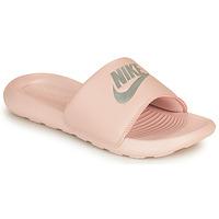 Chaussures Femme Claquettes Nike VICTORI ONE SLIDE Rose / Argenté