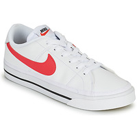Chaussures Femme Baskets basses Nike COURT LEGACY Blanc / Rose