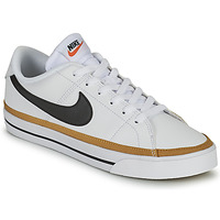 Chaussures Femme Baskets basses Nike COURT LEGACY Blanc / Bleu