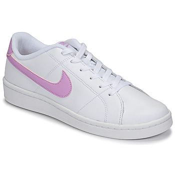 Chaussures Femme Baskets basses Nike COURT ROYALE 2 Blanc / Violet