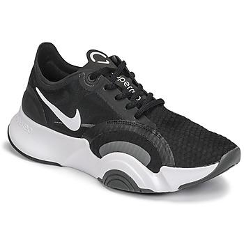 Chaussures Femme Multisport Nike SUPERREP GO Noir / Blanc