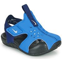 Chaussures Garçon Claquettes Nike SUNRAY PROTECT 2 TD Bleu